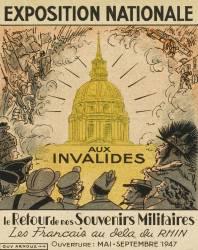 Exposition Nationale aux Invalides, le retour des souvenirs militaires (anonyme) - Muzeo.com