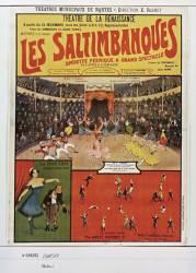 Les Saltimbanques, operette féerique à grand spectacle... (Imprimerie Atelier Boursier....) - Muzeo.com