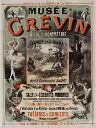Musée Grévin ; Expédition du Tonkin (Chéret Jules) - Muzeo.com