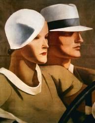 Advert for Italian hatmaker Borsalino, 1929 (anonyme) - Muzeo.com