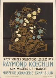 Affiche : Exposition des collection léguées par Raymond Koechlin (anonyme) - Muzeo.com