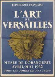 Affiche : L'art de Versailles (anonyme) - Muzeo.com