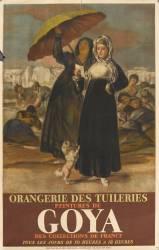 Affiche : Peinture de Goya des musées de France (anonyme) - Muzeo.com