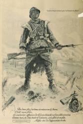 Affiche de propagande française