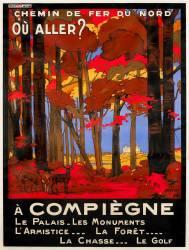 Affiche du Chemin de fer du Nord (anonyme) - Muzeo.com