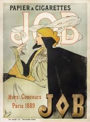 Affiche Job papier à cigarettes (Atché Jane) - Muzeo.com