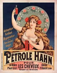 Antiseptique fortifiant regénérateur... Pétrole Hahn pour les cheveux : en vente partout... (anonyme) - Muzeo.com