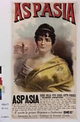 Aspasia : scene della vita greca sotto Pericle di Ulisse Grifoni (Marchetti) - Muzeo.com