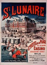 Bains de mer St Lunaire, Gd Hotel de la Plage (anonyme) - Muzeo.com
