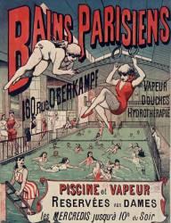 Bains parisiens, 160 rue Oberkampf. Vapeur, douches, hydrothérapie... (anonyme) - Muzeo.com