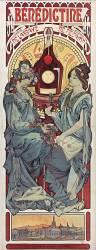 Bénédictine de l'Abbaye de Fécamp (Mucha Alfons) - Muzeo.com