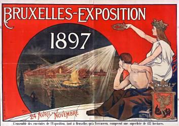 Bruxelles. Exposition 1897... (Baes Henri) - Muzeo.com