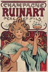 Champagne Ruinart Père et Fils (Mucha Alfons) - Muzeo.com