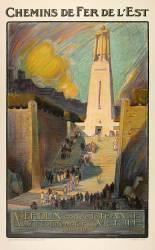 Chemins de fer de l'Est - Verdun convie la France à commémorer sa victoire - 1914-1918 (Besnay L. C) - Muzeo.com