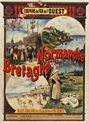 Chemins de fer de l'Ouest. Normandie, Bretagne (Fraipont Gustave) - Muzeo.com