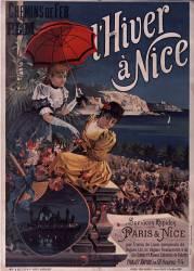 Chemins de fer P. L. M. L'Hiver à Nice (Hugo d'Alési F.) - Muzeo.com