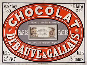 Chocolat Debauve & Gallais (anonyme) - Muzeo.com