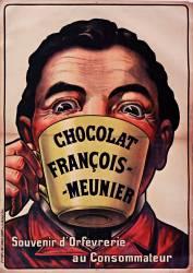 Chocolat François Meunier, Souvenir d'orfèvrerie au consommateur (anonyme) - Muzeo.com