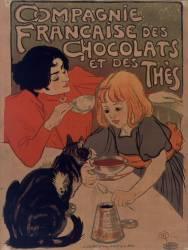 Compagnie française des Chocolats et des thés (Steinlen Théophile Alexandre) - Muzeo.com