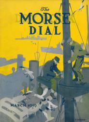 Crewmen, front cover of the 'Morse Dry Dock Dial' (Edward Hopper) - Muzeo.com