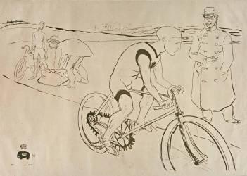 [Cycle Michael] (Toulouse-Lautrec Henri de) - Muzeo.com