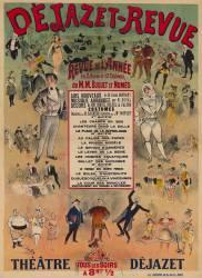 Dejazet-Revue, revue de l'année... Théatre Déjazet... (Jonchère J. (18..-19..)....) - Muzeo.com