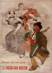Demandez chez votre épicier le cacao Van Houten (Willette Adolphe Léon) - Muzeo.com