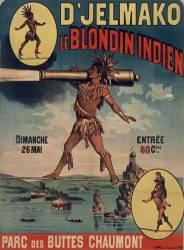 D'Jelmako, le blondin indien (anonyme) - Muzeo.com