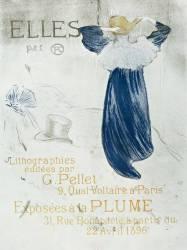 Elles par HTL, lithographies éditées par G. Pellet ... Exposées à La Plume ... à partir du 22 avril 1896 (Toulouse-Lautrec Henri de) - Muzeo.com