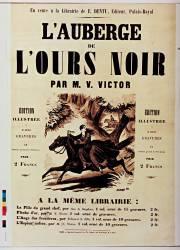 En vente à la librairie E. Dentu L'Auberge de l'ours noir par M. V. Victor (Shugg) - Muzeo.com