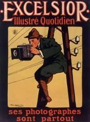 Excelsior illustré quotidien. Ses photographes sont partout... (Losques Daniel de) - Muzeo.com