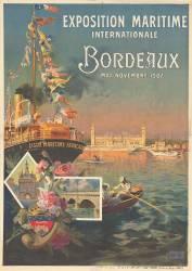 Exposition maritime internationale. Bordeaux, mai-novembre 1907. Ligue maritime française (anonyme) - Muzeo.com