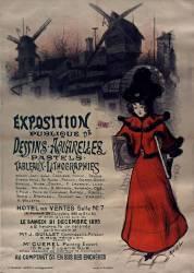 Exposition publique de dessins-aquarelles-pastels. Hôtel des ventes salle n° 7 20 déc. 1895 (Roedel) - Muzeo.com