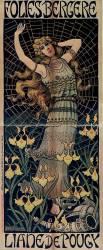 Folies Bergère. Liane de Pougy (Berthon Paul) - Muzeo.com