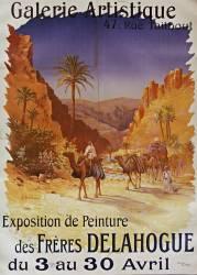 Galerie artistique, 47 rue Taitbout. Exposition de peinture des frères Delahogue : du 3 au 30 avril [1905] (Delahogue Alexis-Auguste...) - Muzeo.com