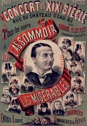 Grand concert du XIX siècle : L'Assommoir et Les Misérables (anonyme) - Muzeo.com
