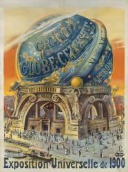 Large celestial globe. World Expo 1900 (anonyme) - Muzeo.com