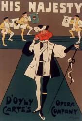 His Majesty D'Oyly Carte's Opera Company (Hardy Dudley) - Muzeo.com