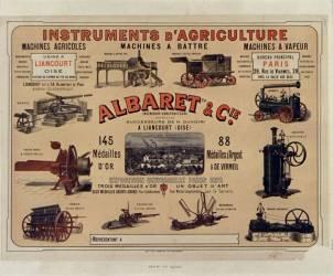 Instruments d'agriculture, Albaret et Cie (Chéret Jules) - Muzeo.com
