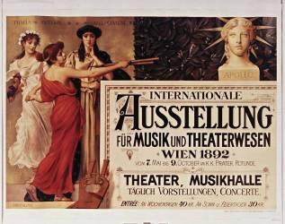 Internationale Austellung für Musik und Theaterwesen, Wien 1892... (Klimt Ernst) - Muzeo.com