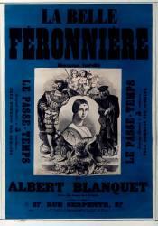 La Belle Féronnière roman inédit par Albert Blanquet... Le Passe-temps (Belin Auguste) - Muzeo.com