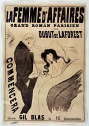 La Femme d'affaires, grand roman parisien par Dubut de Laforest commencera dans Gil Blas le 15 décembre (Forain Jean-Louis...) - Muzeo.com