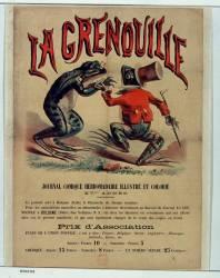 La Grenouille journal comique hebdomadaire (anonyme) - Muzeo.com
