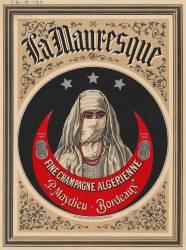 La Mauresque, fine champagne algérienne... (anonyme) - Muzeo.com