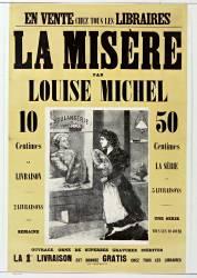 La Misère par Louise Michel (anonyme) - Muzeo.com