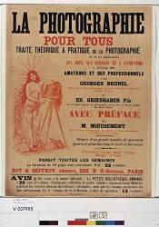 La Photographie pour tous... par Georges Brunel et Ed. Grieshaber fils... (Clair-Guyot Ernest) - Muzeo.com