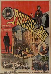 La Porteuse de pain, drame nouveau en 5 actes et 9 tableaux par Mrs.Mrs X.de Montépin & Dornay ... (anonyme) - Muzeo.com