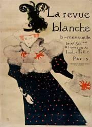 La Revue Blanche bi-mensuelle, [...], Charpentier et Fasquelle, éditeurs 11 rue de Grenelle : [affiche] (Toulouse-Lautrec Henri de) - Muzeo.com