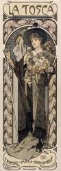 La Tosca, théatre-Sarah-Bernhardt (Mucha Alfons) - Muzeo.com
