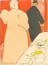 L'Argent (Toulouse-Lautrec Henri de) - Muzeo.com